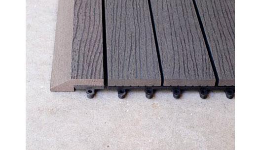 Outdoor Decking Tiles - Wood Composite DIY Deck Tiles ...