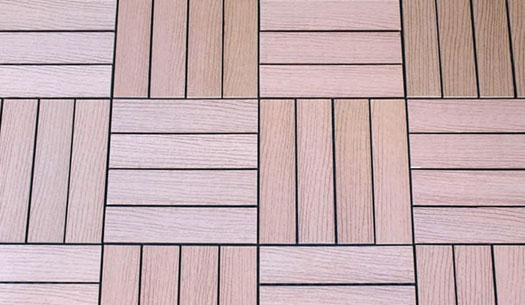 Outdoor Decking Tiles Wood Composite Diy Deck Tiles