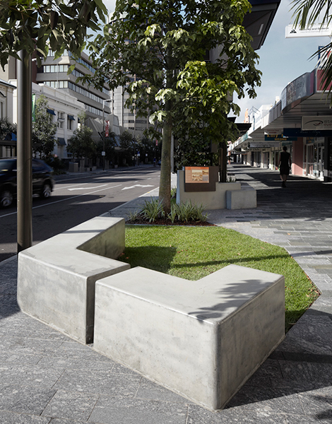 flinders street mall townsville project ods
