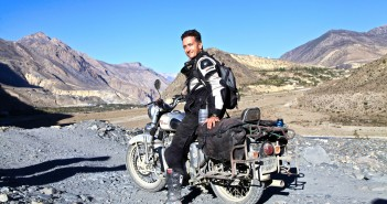 Touring Nepal on a Royal Enfield 350