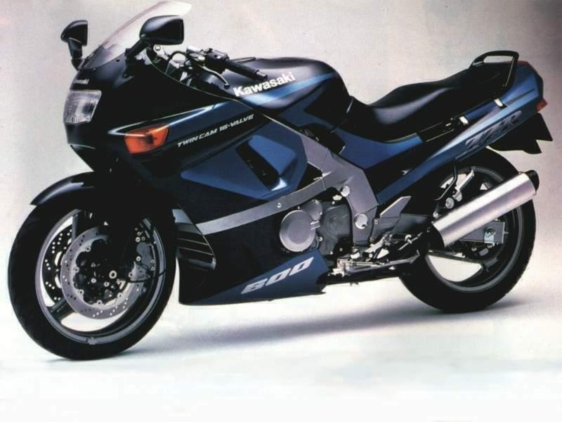 Kawasaki ZZR600 93  4