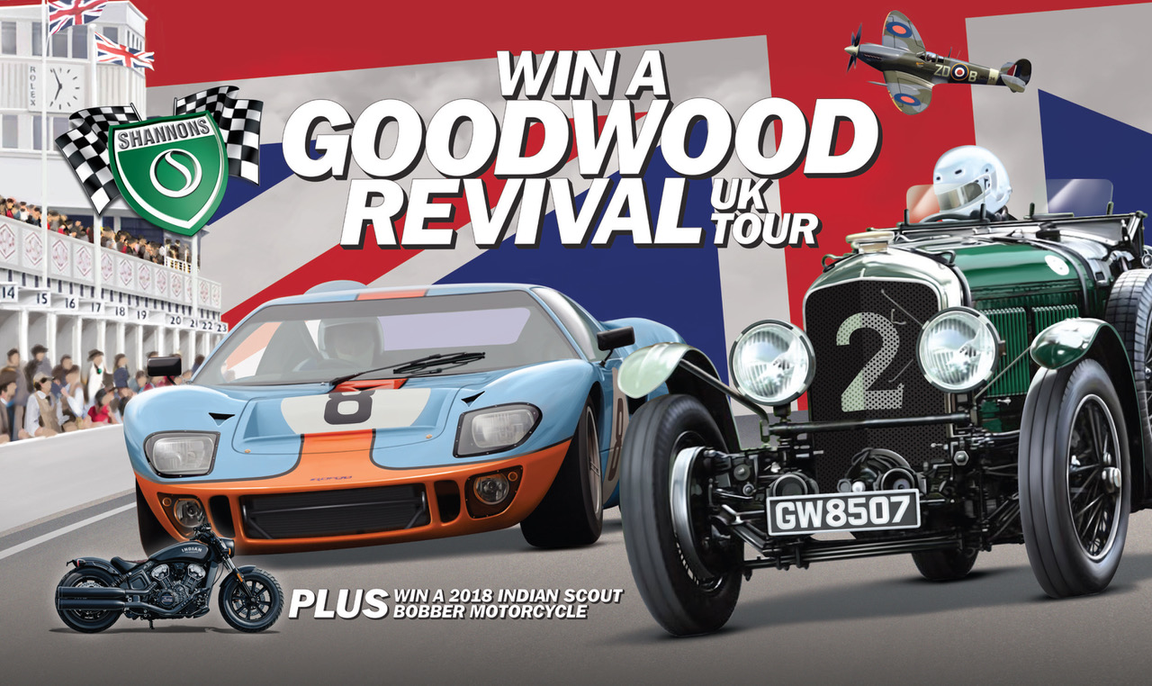 win a trip to the goodwood revival 2018 road rider magazine. Black Bedroom Furniture Sets. Home Design Ideas