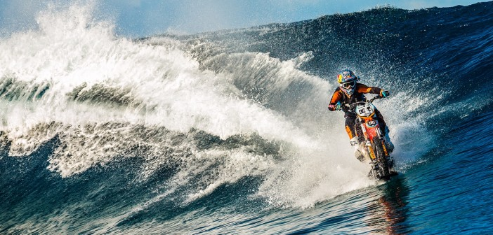 Robbie Maddison to ride motorcycle on Sydney Harbour at Sydney M