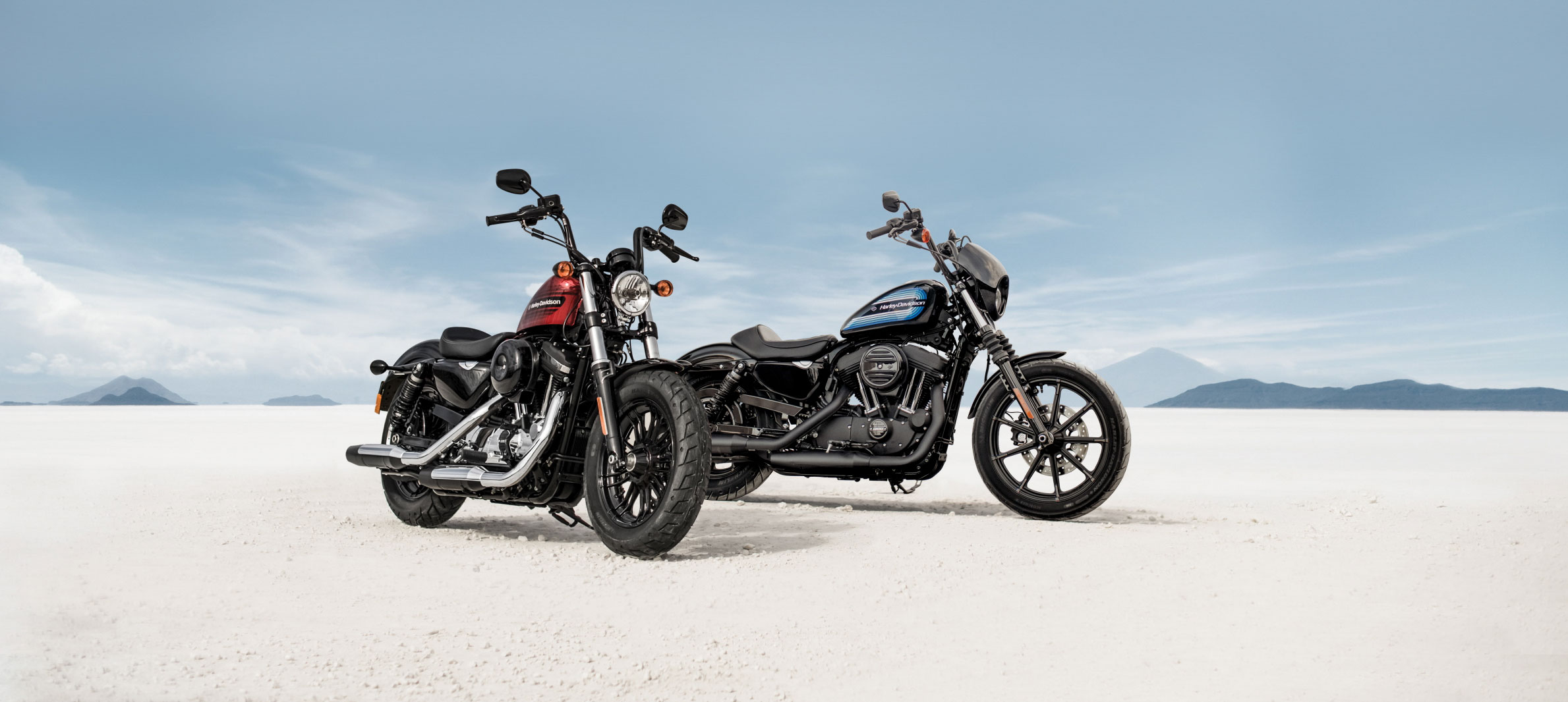 New Harley-Davidsons released