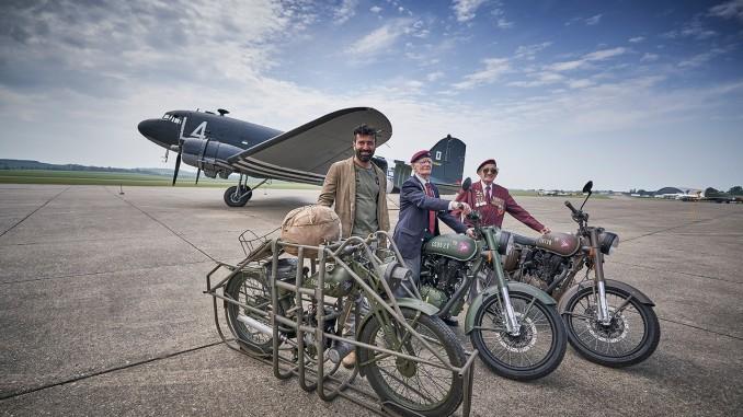 2018 Royal Enfield limited edition Pegasus - UK Launch