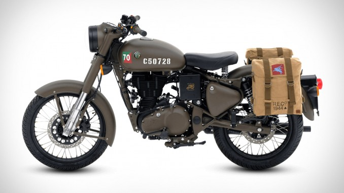 Limited Edition Royal Enfield Pegasus pays homage to WWII British paratroops