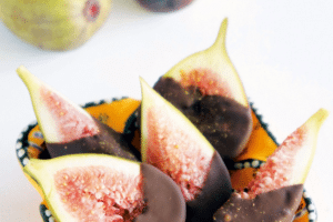 Christie's Chilli Chocolate-Dipped Figs