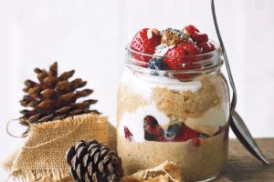 Lee's Layered Quinoa Trifle