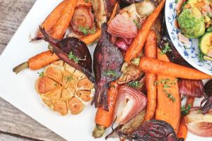 Lisa's Festive Roast Veggies