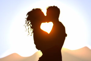 love planet zodiac astrology venus stars romance couple partner sunset sunrise nature