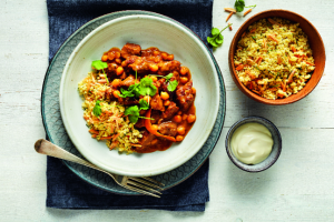 Lamb Tagine with Chickpeas