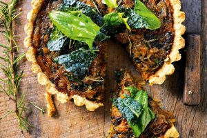 Caramelised Onion and Rosemary Tart Recipe