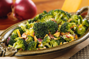 Roast Broccoli Salad Recipe