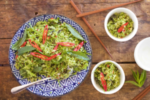 Asian Broccoli Rice