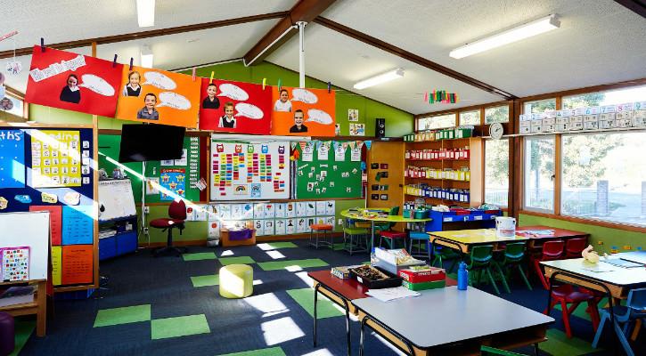 St Joseph's classroom