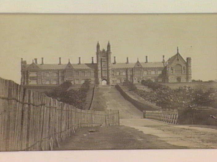 Sydney University c1860's