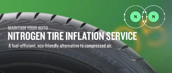 Nitrogen Tyre Filling