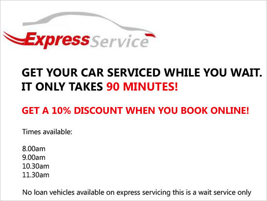 Express Service Special