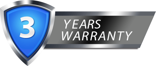 Majestic 3 year warranty