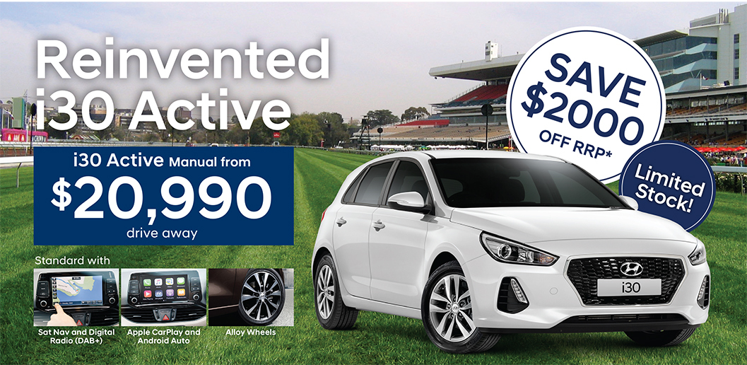 Save $2000 on i30 Active