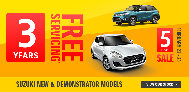 3 Years Free Servicing