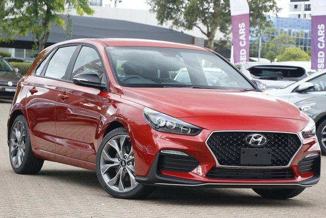 New Hyundai i30 N Line D-CT, Brookvale, 2021 Hyundai i30 N Line D-CT Hatchback