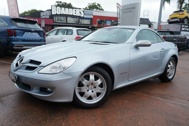 Used Mercedes-Benz SLK200 Kompressor, Brookvale, 2004 Mercedes-Benz SLK200 Kompressor Convertible