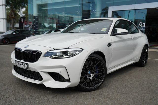 Demonstrator, Demo, Near New BMW M2 Competition, Brookvale, 2020 BMW M2 Competition Coupe