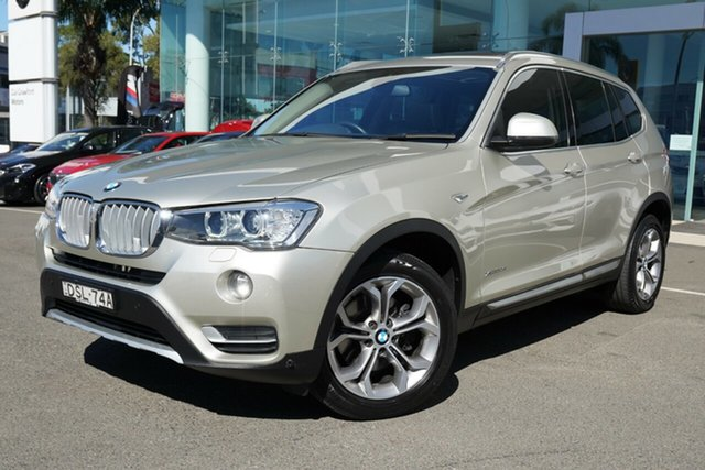 Used BMW X3 xDrive20d, Brookvale, 2017 BMW X3 xDrive20d Wagon