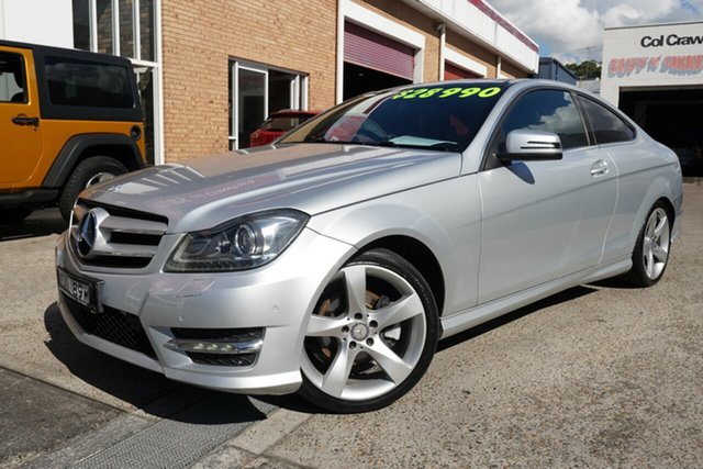 Used Mercedes-Benz C-Class C250 CDI 7G-Tronic Avantgarde, Brookvale, 2014 Mercedes-Benz C-Class C250 CDI 7G-Tronic Avantgarde Coupe