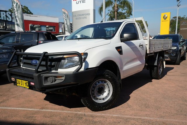 Used Ford Ranger XL 3.2 (4x4), Brookvale, 2014 Ford Ranger XL 3.2 (4x4) Cab Chassis