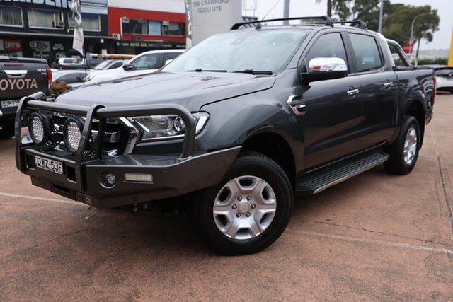 Used Ford Ranger XLT 3.2 (4x4), Brookvale, 2018 Ford Ranger XLT 3.2 (4x4) Double Cab Pick Up