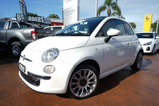 Used Fiat 500 Lounge, Brookvale, 2013 Fiat 500 Lounge Convertible