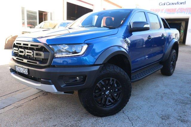 Used Ford Ranger Raptor 2.0 (4x4), Brookvale, 2019 Ford Ranger Raptor 2.0 (4x4) Double Cab Pick Up