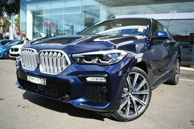 Demonstrator, Demo, Near New BMW X6 xDrive30d Coupe Steptronic M Sport, Brookvale, 2021 BMW X6 xDrive30d Coupe Steptronic M Sport Wagon