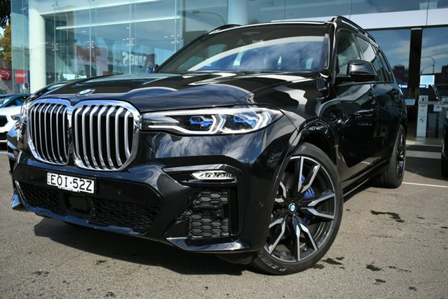 Demonstrator, Demo, Near New BMW X7 xDrive30d M Sport, Brookvale, 2020 BMW X7 xDrive30d M Sport Wagon