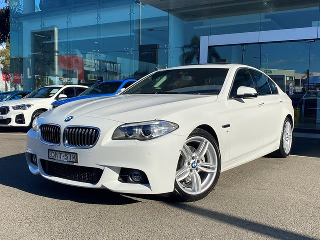 Used BMW 520d M Sport, Brookvale, 2016 BMW 520d M Sport Sedan