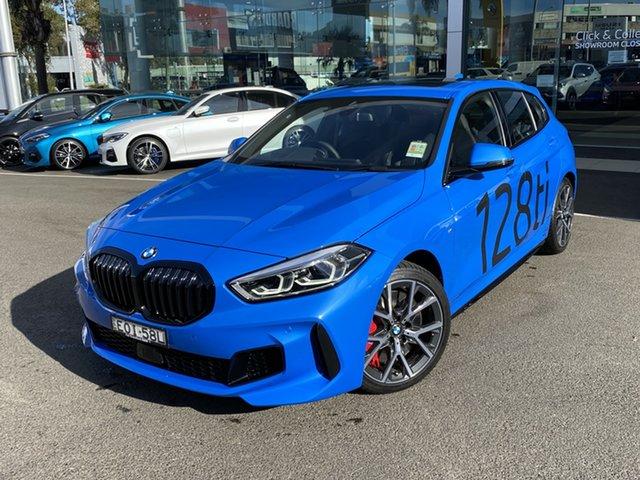 Demonstrator, Demo, Near New BMW 128ti 28TI, Brookvale, 2021 BMW 128ti 28TI Hatchback