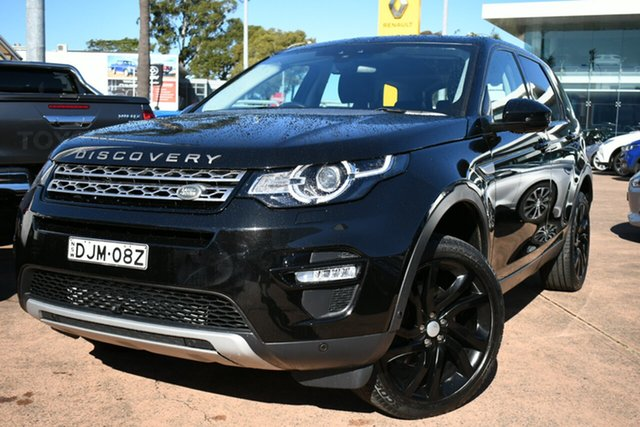 Used Land Rover Discovery Sport HSE, Brookvale, 2016 Land Rover Discovery Sport HSE Wagon
