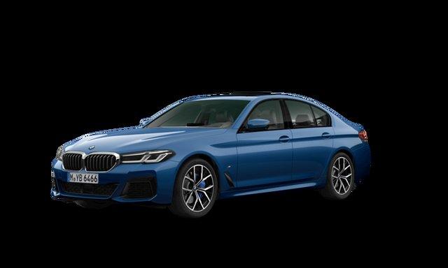 Demonstrator, Demo, Near New BMW 5 30d M Sport LCI, Brookvale, 2021 BMW 5 30d M Sport LCI Sedan
