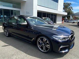 2020 BMW M550i xDrive Sedan.