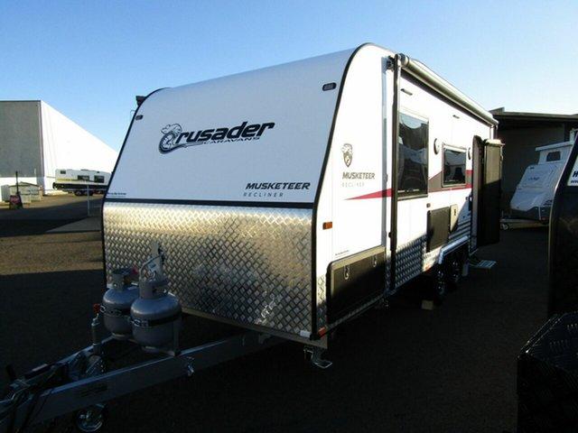 New Crusader Musketeer Recliner [DC8696], Pialba, 2021 Crusader Musketeer Recliner [DC8696] Caravan
