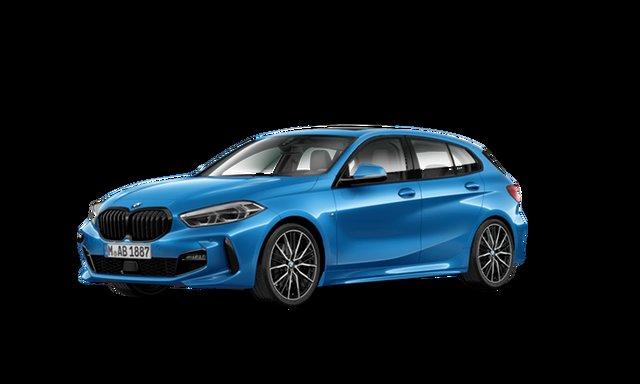 Demonstrator, Demo, Near New BMW 1 Series 118i DCT Steptronic M Sport, Brookvale, 2021 BMW 1 Series 118i DCT Steptronic M Sport Hatchback