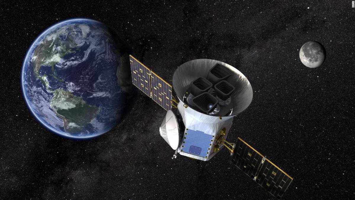 NASA launches new telescope to find planets that support life