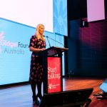 Gidget Foundation Australia CEO Arabella Gibson.