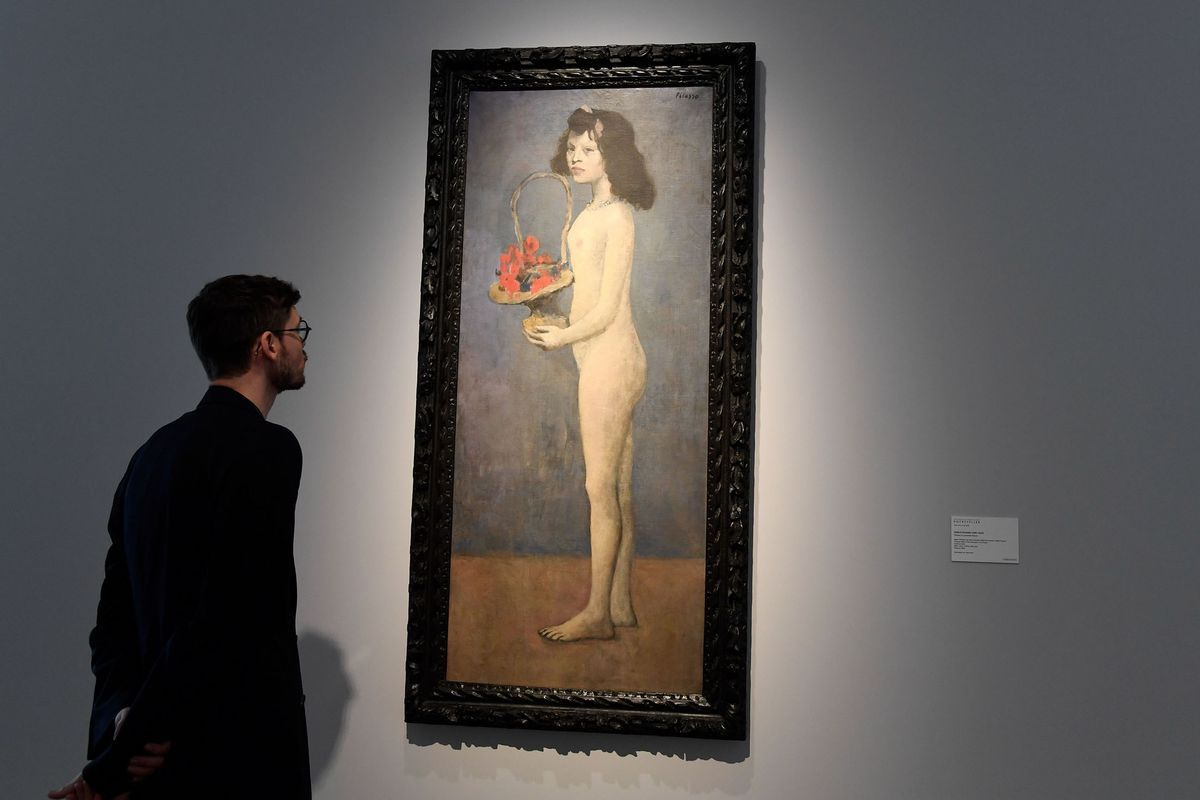Picasso stole the show with his canvas being sold for $115 million in New York at the Rockefeller collection auction.