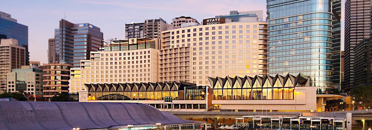 The Hyatt Regency Sydney took out top spot in Cvent Inc's 50 best hotels list for meetings in Asia Pacific.