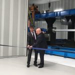 The grand unveiling of the world's largest metal 3D printer took place at the Titomic factory in Mount Waverley, Melbourne. @titomic_limited