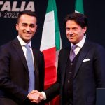 Leader of the Five-Star Movement Luigi Di Maio and Prime Minister nominee Giuseppe Conte. @BreakingViews