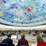 UNHRC in session